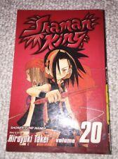 Shaman King Hiroyuki Takei Japanese A 00000E9B Nime Manga Book Vol.20