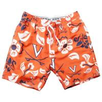 Men's University of Virginia Cavaliers Swim Trunks Floral Swim Shorts