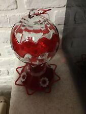 Hummingbird Feeder Glass Hot Air Balloon Shape