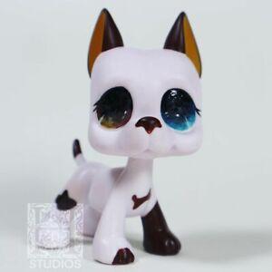 LPS Great Dane Dog Custom #577 Littlest Pet Shop Painted Figure by HelloStudios