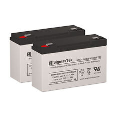 Para Systems Minuteman A 500/2 Replacement Battery by SigmasTek (Set of 2)
