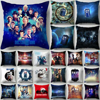 TV Doctor Who Pillowcase DW Pillows Cover Bedroom Sofa Car Waist Pillows Case