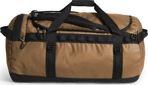 The North Face Mens - Base Camp Duffel LARGE bag backpack - Utility Brown/ Black