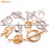 GEM-insid 14K Gold-filled Jewelry Making Toggle Clasp For Necklace/Bracelet