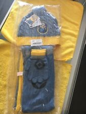 Minion Despicable Me 3 Piece Set Beanie Scarf Gloves Kids ages 4-6 New w/Tags
