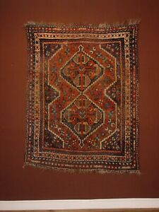 WONDERFUL ANTIQUE LURI KASKAY RUG ****HG***