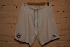 WEST HAM UNITED ENGLAND FOOTBALL SHORTS SOCCER UMBRO MENS XL