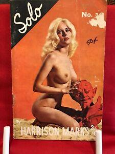 SOLO (No.35) HARRISON MARKS Photo Magazine / PIN-UPS / ANNETTE JOHNSON / GLAMOUR