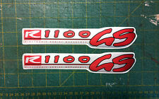 BMW R 1100 GS 1996 serbatoio argento - adesivi/adhesives/stickers/decal