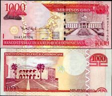 DOMINICAN REPUBLIC 1000 1,000 PESOS ORO 2010 P 180 UNC