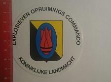 Aufkleber/Sticker: Koninklijke Landmacht EOD Explosieven Opruimings (29121696)
