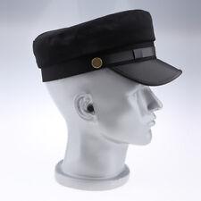 Retro Women Mens Leather Painter Flat Cap Cabbie Newsboy Visor Beret Hat Ivy