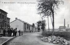 CPA 54 MINES DE SANCY CITE DE LA ROUTE D'AUDUN (cpa animée
