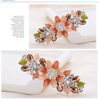 Hairpin Women Barrette Flower Crystal Rhinestone Hair Clips Hair Accessories