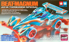 TAMIYA 92285 Mini 4WD BEAT-MAGNUM AR-14 Turquoise Special (AR Chassis)