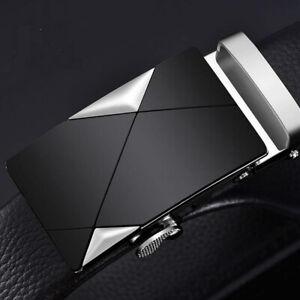 Luxury Men Metal Automatic Buckle For Leather Ratchet Belt Strap Waistband Waist