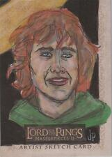 "Lord of the Rings Masterpieces II - Jason Potratz ""Pippin"" Sketch Card"