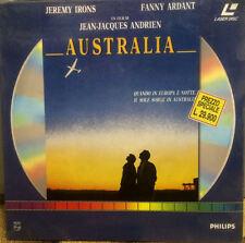 AUSTRALIA con Jeremy Irons - LASER DISC NUOVO