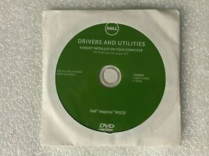 Dell Inspiron N5110 Drivers & Utilities TFFWT Reinstallation DVD DPN: 02579V
