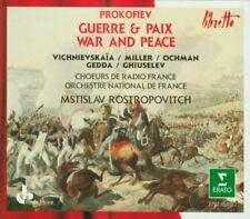 Prokofiev: War and Peace - Vishnevskaya, Rostropovich (Erato 4 CD)