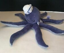"RARE - The Preppy Pelican Octopus 9"" Plush ONE OF A KIND!"