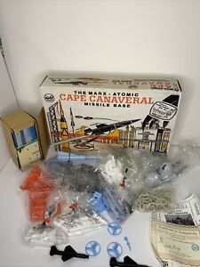 The Marx Atomic Cape Canaveral Missile Base Play Set