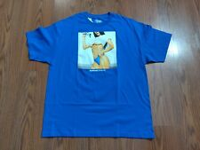 NWT Popular Demand no contest royal blue short sleeve t shirt size medium