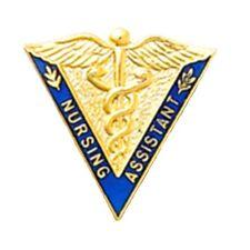 Nursing Assistant Pin Caduceus Professional Graduation Emblem Nurse 5031 New