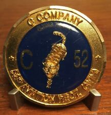 US Army C Co 52nd Aviation Regiment FLYING TIGERS Challenge coin