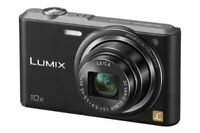Panasonic Digital Camera Lumix Sz3 10X Optical Black Dmc-Sz3-K