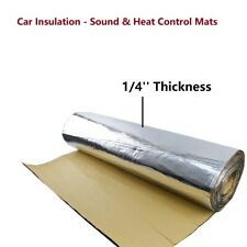 Heat Shield Insulation Deaden Mat Noise Sound Deadener Thermal Pad 39''x65''
