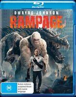 Rampage (Blu-ray, 2018)BRAND NEW & SEALED