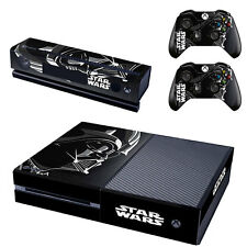 Star Wars Darth Vader Skin Stickers for Xbox One Console & 2 Controller Kinect
