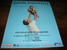 PINK MARTINI - PUBLICITE HANG - TOURNEE FRANCAISE !!!!!