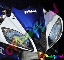 KIT ADESIVI FARI YAMAHA R6  REPLICA SBK moto sticker racing Headlights tuning