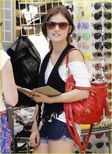 NWT Rebecca Minkoff Cupid Studded Satchel Bag Tangelo