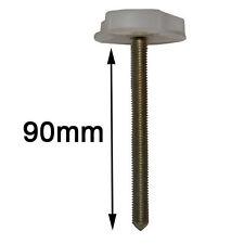 Par Grande Tornillos de Cama rueda control Para Cabeceros uso con Puntales