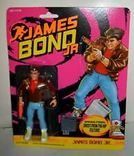 #9063 RARE NRFB Hasbro James Bond Jr 10 Figures & 1 Vehicle
