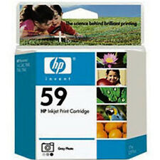 HP59 Grey Photo Genuine Ink Cartridge For PhotoSmart 245 245v 245xi 7660 7755