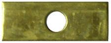 """Stained Glass Supplies 2"""" brass cross bar"""
