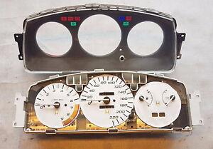 HONDA CIVIC 1,4L Bj 93 Tacho Kombiinstrument E4HR0143032 78100 SR3 E400