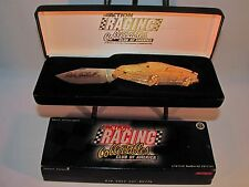 Action Dale Earnhardt # 3 Goodwrench Gold Collector's Knife
