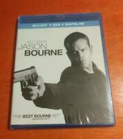 Jason Bourne Blu-ray DVD Matt Damon  Tommy Lee Jones  Julia Stiles  Vikander
