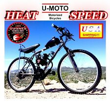 "Complete Diy 2-Stroke 66Cc/80Cc Motorized Bike Kit With 26"" 18 Speed Bicycle"