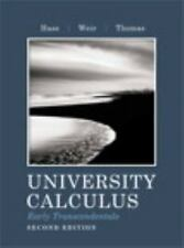 University Calculus, Early Transcendentals by Joel R. Hass, Frank R....