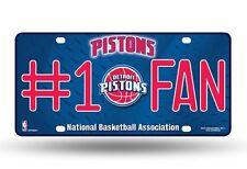 NBA DETROIT PISTONS LICENSE PLATE