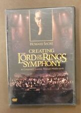 Howard Shore- CREATING THE LORD OF THE RINGS SYMPHONY New DVD Free Ship SEALED