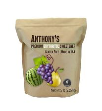 Erythritol Granules (5lbs) by Anthony's Made in the USA Batch T... Free Shipping