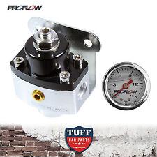 Proflow 13216 2 Port Carby Fuel Pressure Regulator FPR 5 - 12 PSI with Gauge New