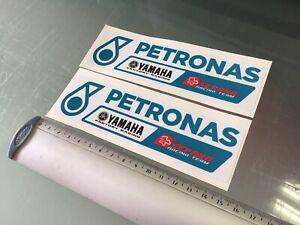Petronas SRT Moto GP Racing Team Stickers / Decals X2 (150mm x 40mm)